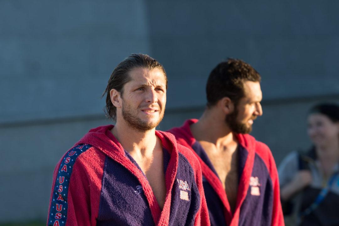 USA Water Polo Opens Olympics Falling to Defending Champs Croatia