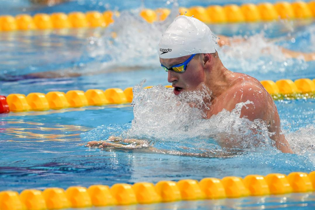 Peaty sets new 50m breaststroke meet record, Sette Colli, day 2 heats