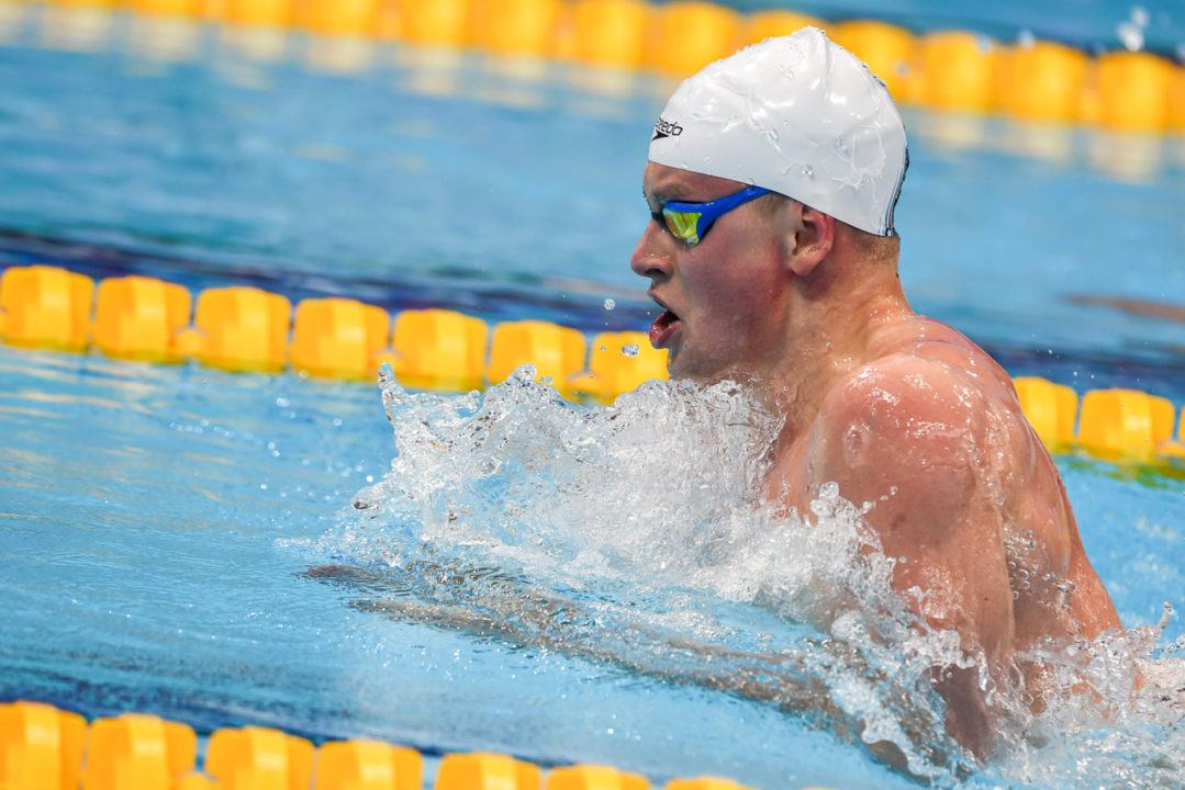 Adam Peaty Swims 26.86 in 50 Breaststroke Time Trial