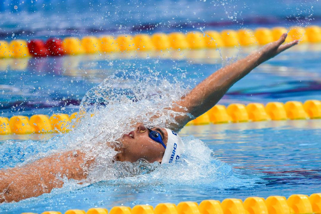 Christou Produces Greek National Record In 50 Backstroke