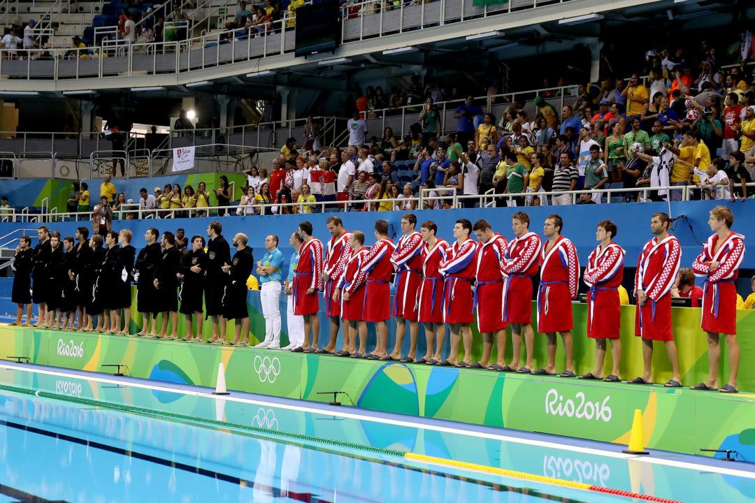 Brazil Out of Medal Contention in Men's Water Polo After Loss to Croatia