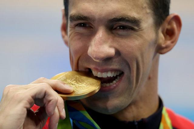 Michael Phelps. Finais da natacao no OAS. Jogos Olimpicos Rio 2016. 09 de Agosto de 2016, Rio de Janeiro, RJ, Brasil. Foto: Satiro Sodré/SSPress