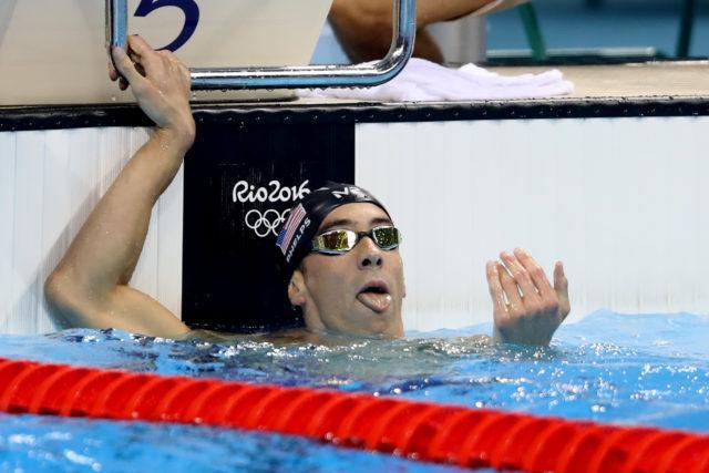 Michael Phelps. Finais e semi da natacao no OAS. Jogos Olimpicos Rio 2016. 09 de Agosto de 2016, Rio de Janeiro, RJ, Brasil. Foto: Satiro Sodré/SSPress