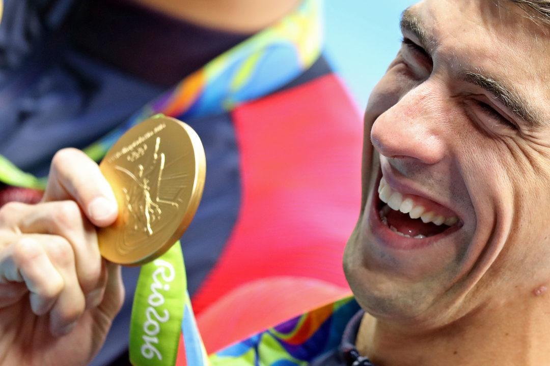 Michael Phelps Has 18 lbs Of Olympic Medals