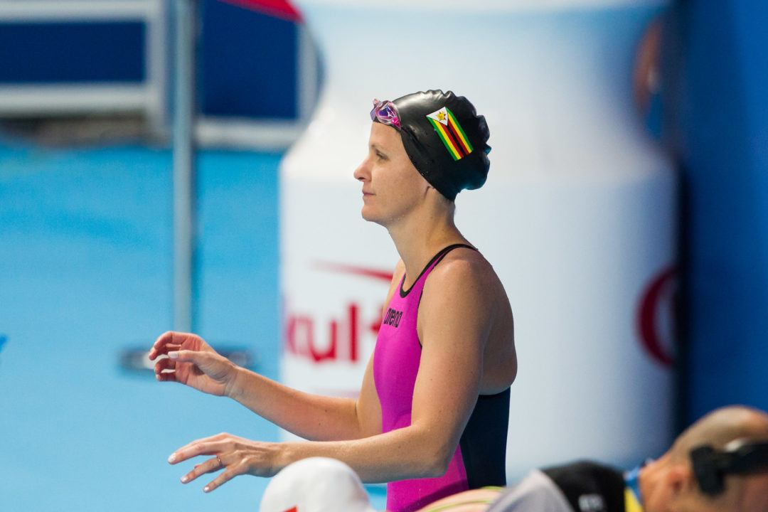 Kirsty Coventry Racing for One More Olympic Swim on Thursday