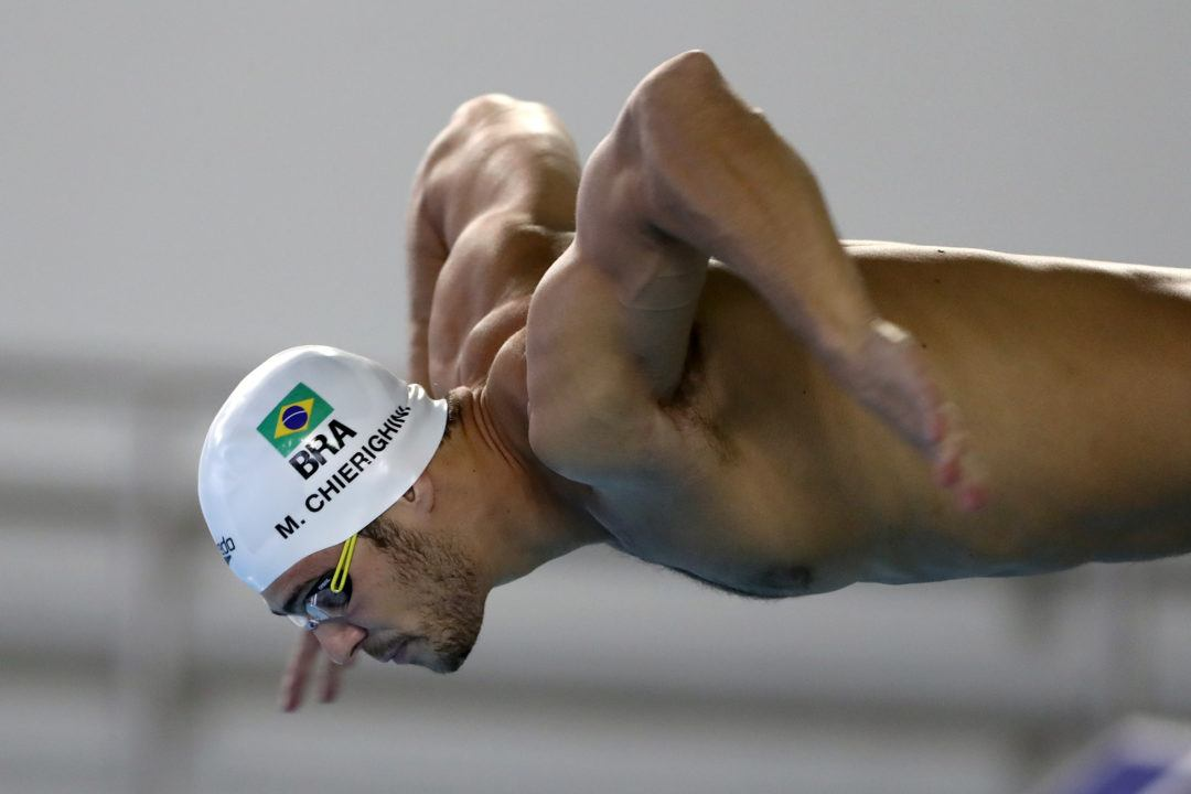 Photo Vault: Check Out the Brazilian Swimmers Preparing for Rio