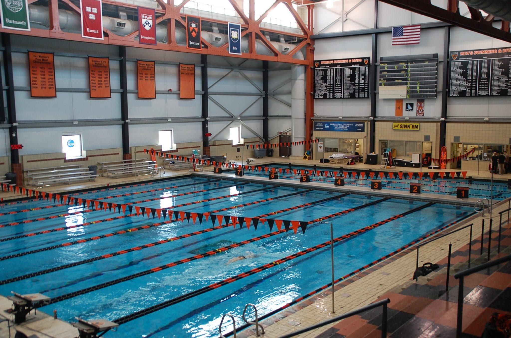 Princeton suspends men 39 s swimming and diving team 39 s season - Princeton university swimming pool ...
