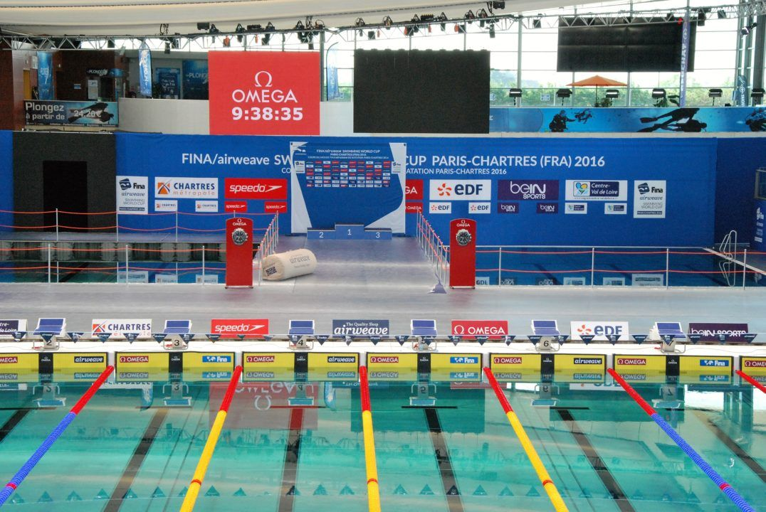 FINA World Cup starts in Chartres with many international swim stars
