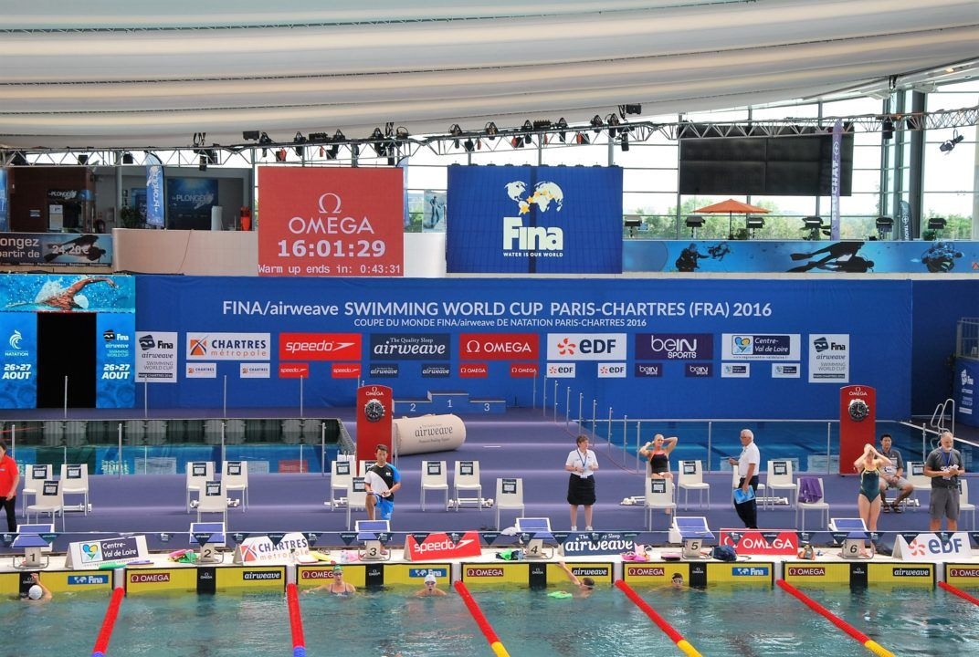 Manaudou Misses 50 m Freestyle Final at World Cup Chartres