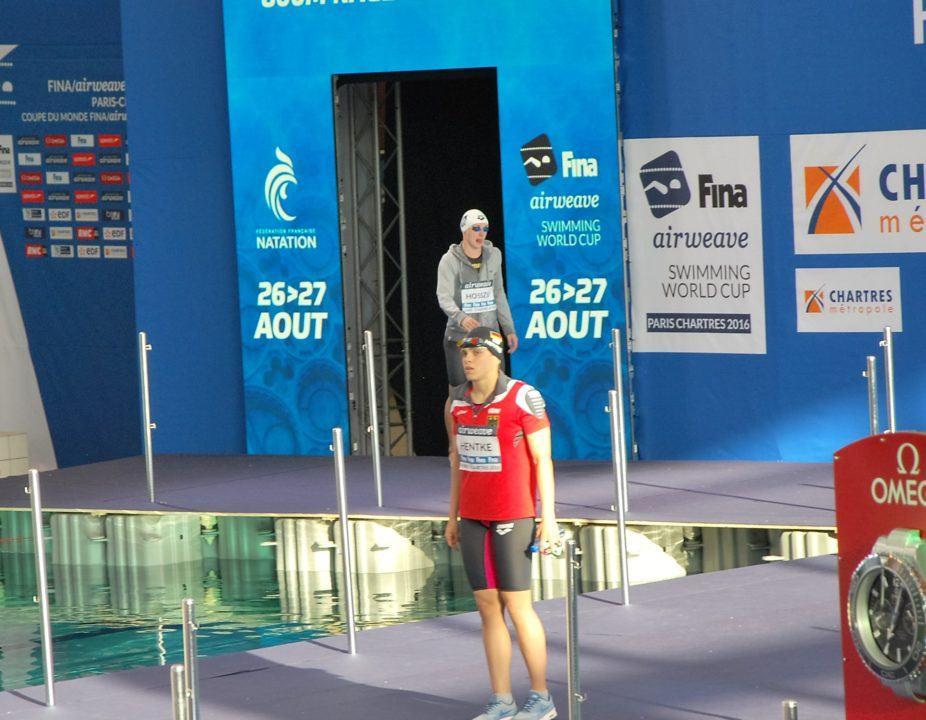 Hentke und Heintz gewinnen beim FINA World Cup in Chartres