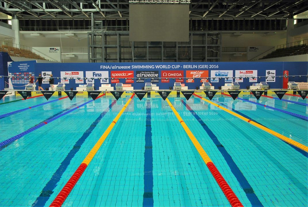 Berlin to Fill Eindhoven's Relinquished Spot in FINA World Cup Series