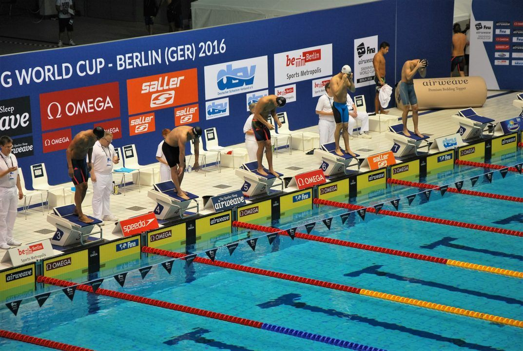 Michael Andrew fastest into 100m IM final at FINA World Cup Berlin