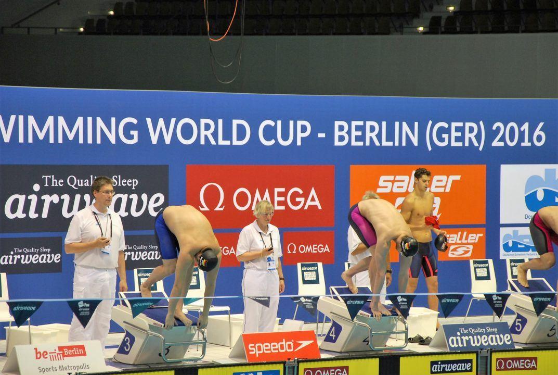 FINA World Cup Berlin: Zahlreiche deutsche Finalteilnahmen