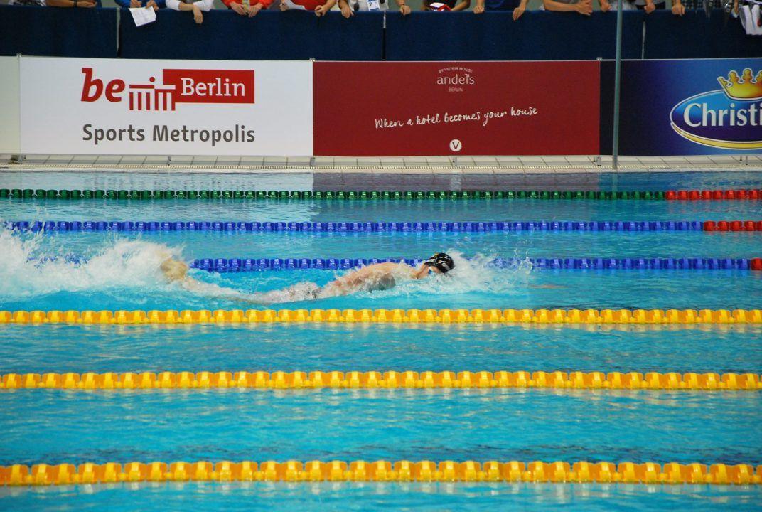 FINA World Cup Berlin: Philip Heintz mit Deutschem Rekord, 200m Lagen