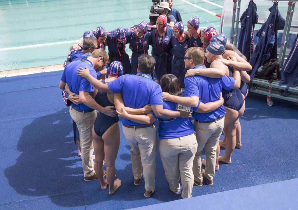 USA Women's Water Polo Takes Down China 12-4 in 2nd Straight Rout
