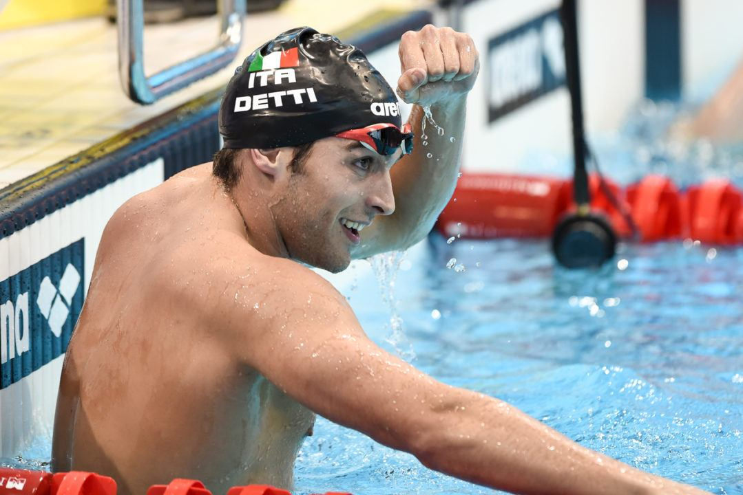 Gabriele Detti Puts in 3:45 Bellwether in 400 Free in Milan