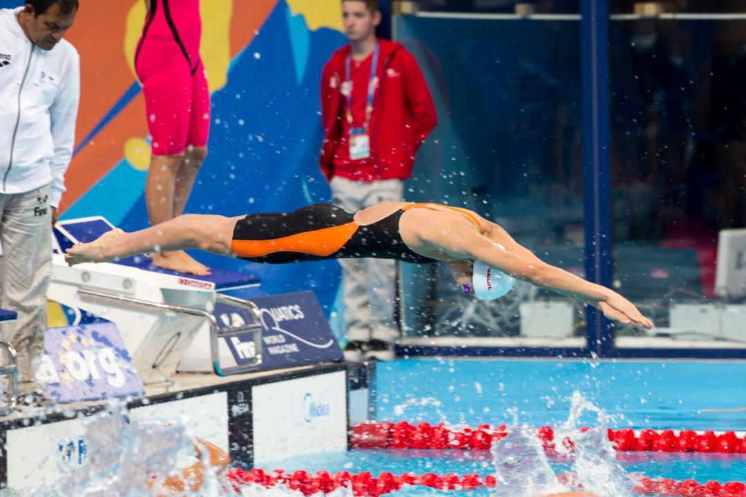 Rikako Ikee Lowers Own 50 Free Japanese, World Junior Record