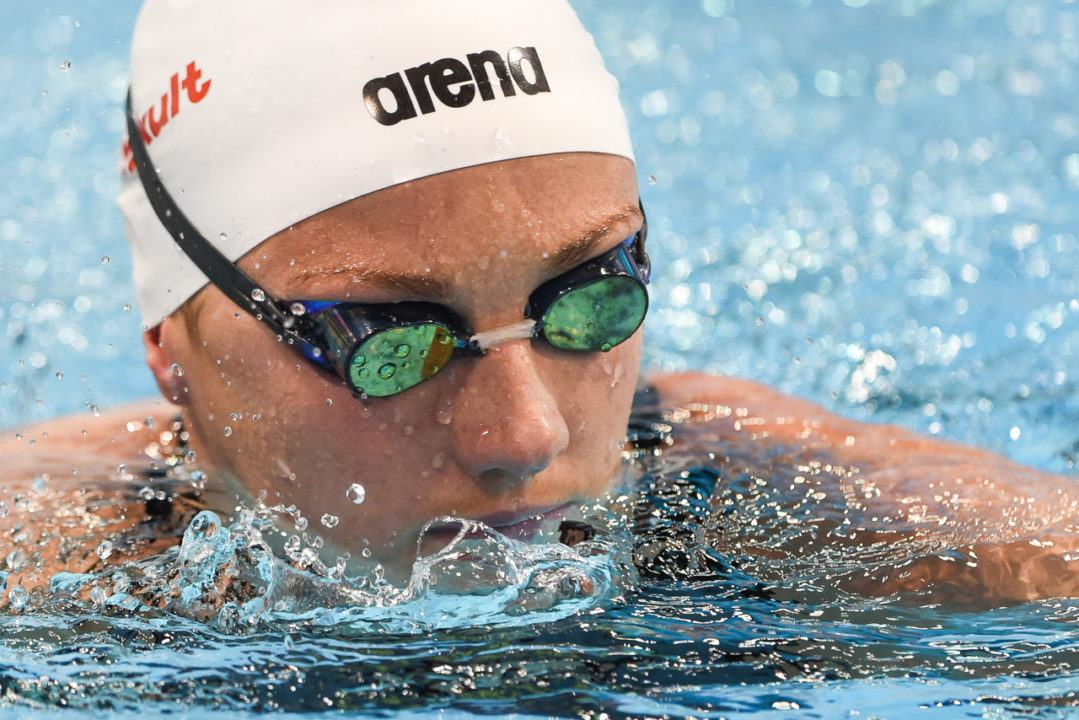 Hosszu Takes Home Four More Wins on Day 2 of Beijing World Cup