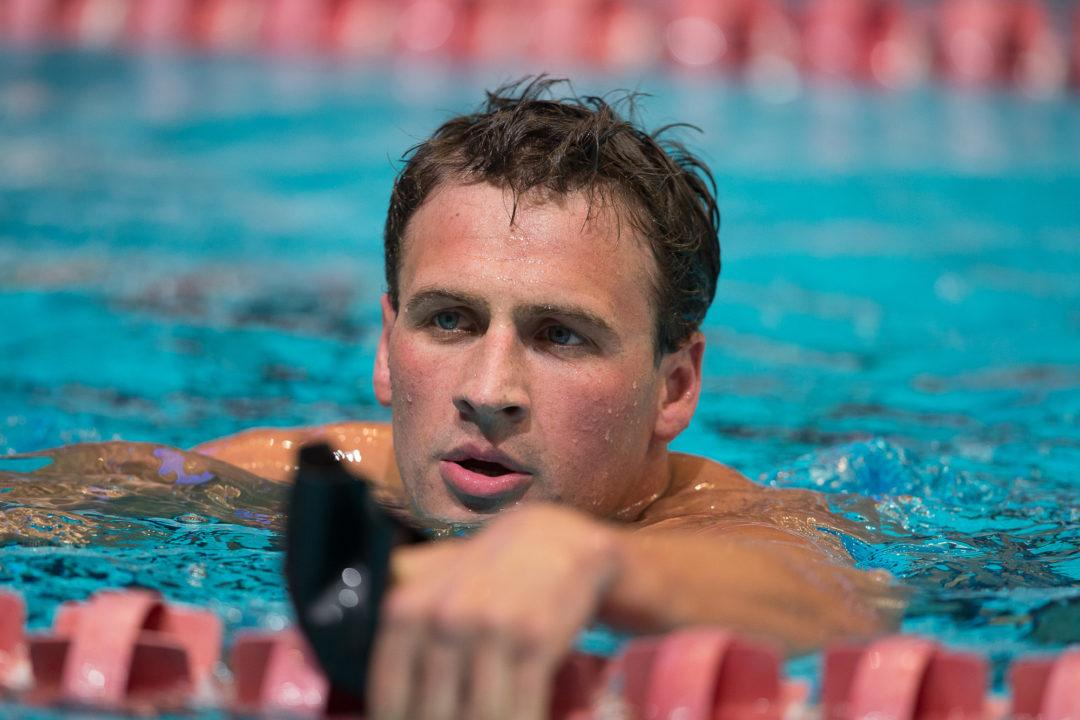 Ryan Lochte Sues Sponsor For Going Back On $125K Deal