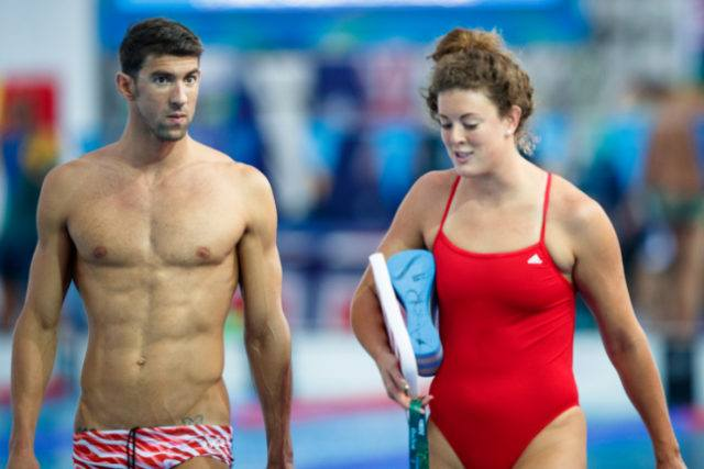 Michael Phelps & Allison Schmitt, courtesy of Rio2016.com