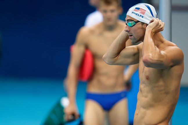 Michael Phelps' First Practice In Rio (Photo Vault)
