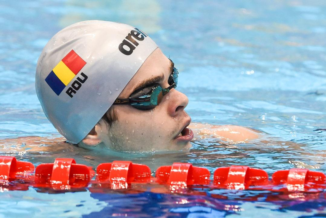 Robert Glinta Dips Below 1:52 For New Romanian Record In 200 Back