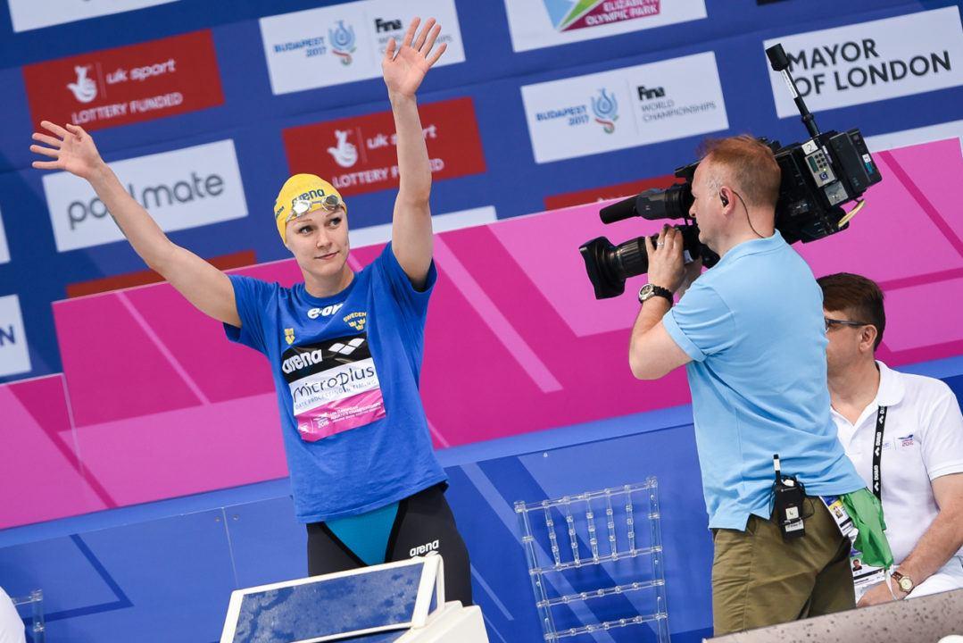 Sarah Sjostrom Takes 200 Free Swedish Record, 5th Fastest All-Time
