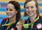 Leah Smith, Katie Ledecky - 2016 Olympic Games in Rio -courtesy of simone castrovillari