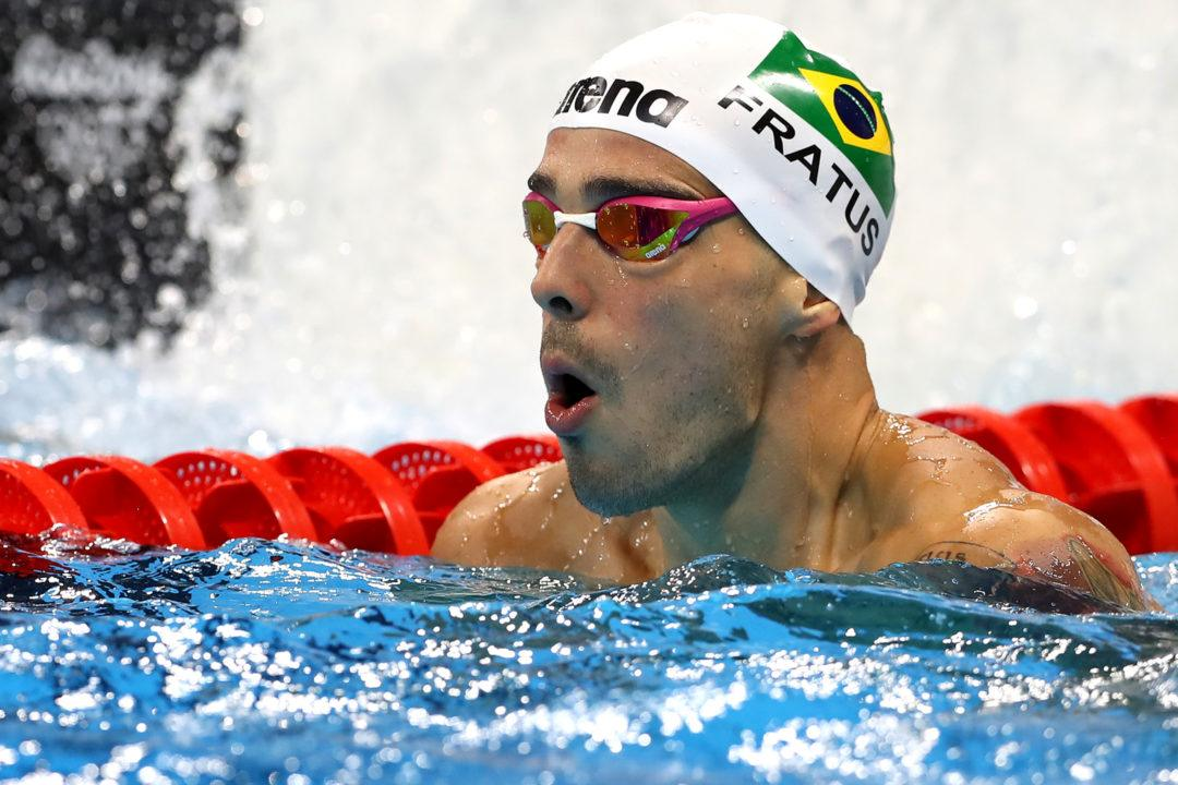 WATCH: Bruno Fratus and Cesar Cielo Swim 50 Free Final at Maria Lenk