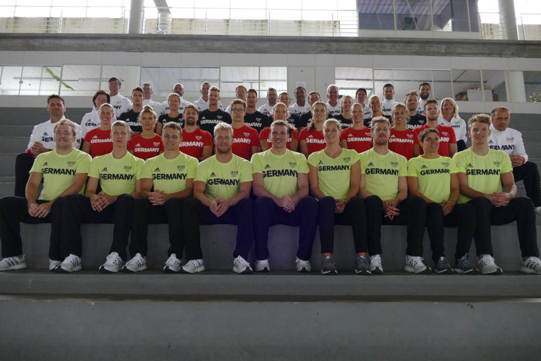 Facts über das Deutsche Olympische Schwimmteam: Altersdurchschnitt 24.