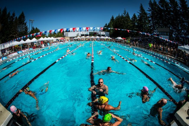2016 US Masters Swimming National Championship (Photo: Mike Lewis - Courtesy of U.S. Masters Swimming)