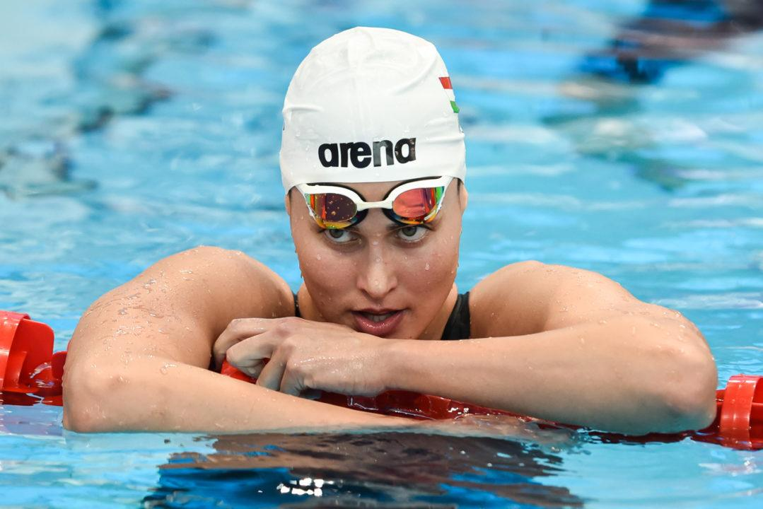 Hungarian Swimmers Echo Dour Notes After 1st Day of Championships