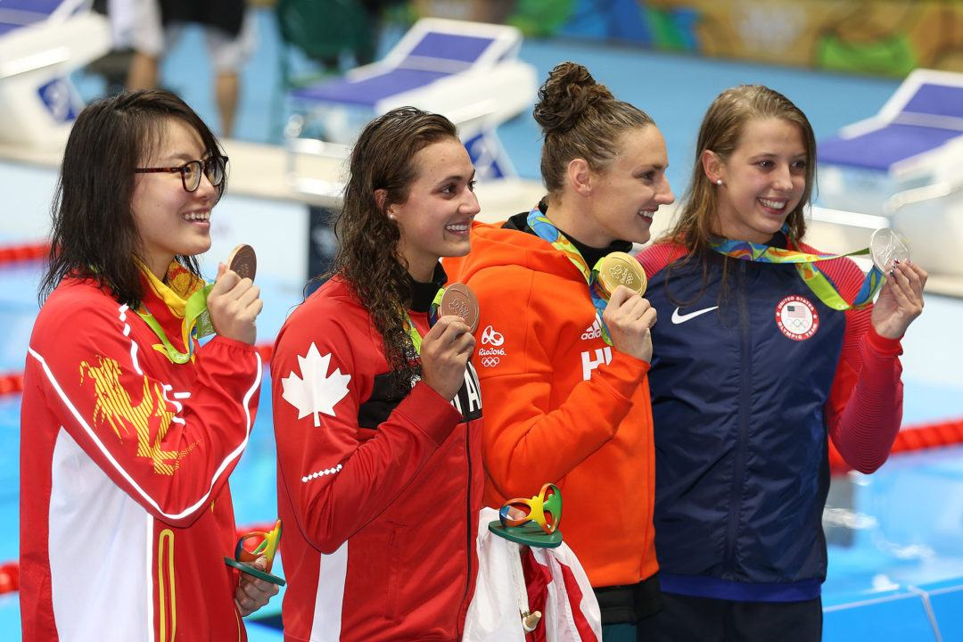 Masse, Women's Medley Relay Continue To Rewrite Canadian Records