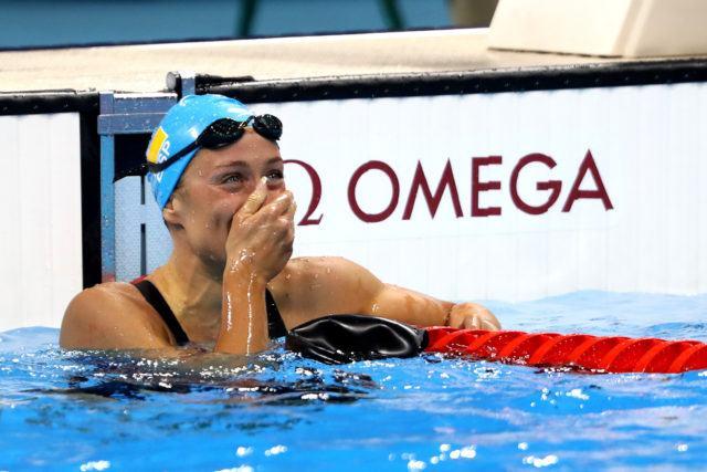 Mireia Belmonte Garcia - 2016 Rio Olympics/photo credit Simone Castrovillari