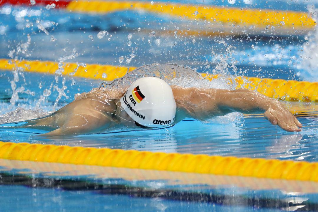 Paul Biedermann im Finale über 200 m Freistil bei Olympia