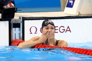 Olympic Sprint Champ Pernille Blume Swims Lifetime Best in 100 Free