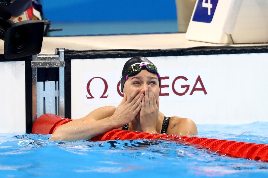 WATCH: Pernille Blume Pull off 50 Free Upset to Win Gold