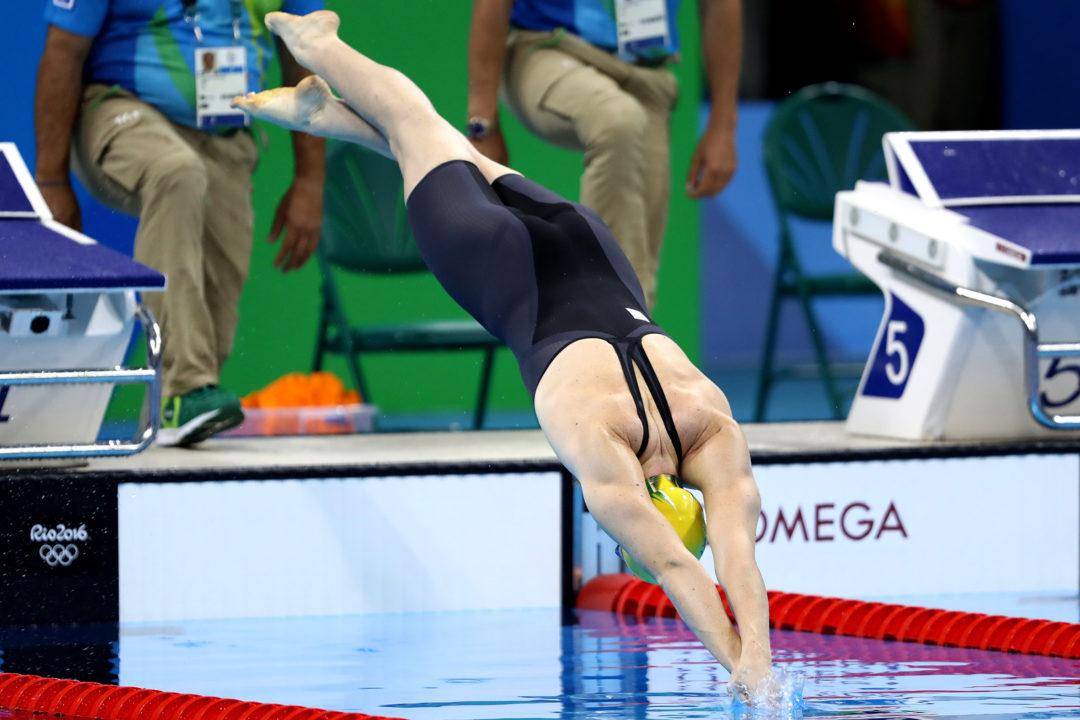 "Cate Campbell ""Just Trying to Wake Up"" for Prelims"