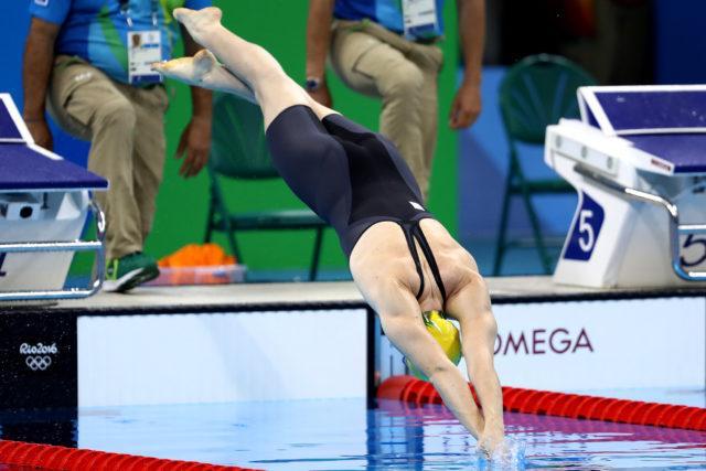 Cate Campbell - 2016 Rio Olympics/photo credit Simone Castrovillari