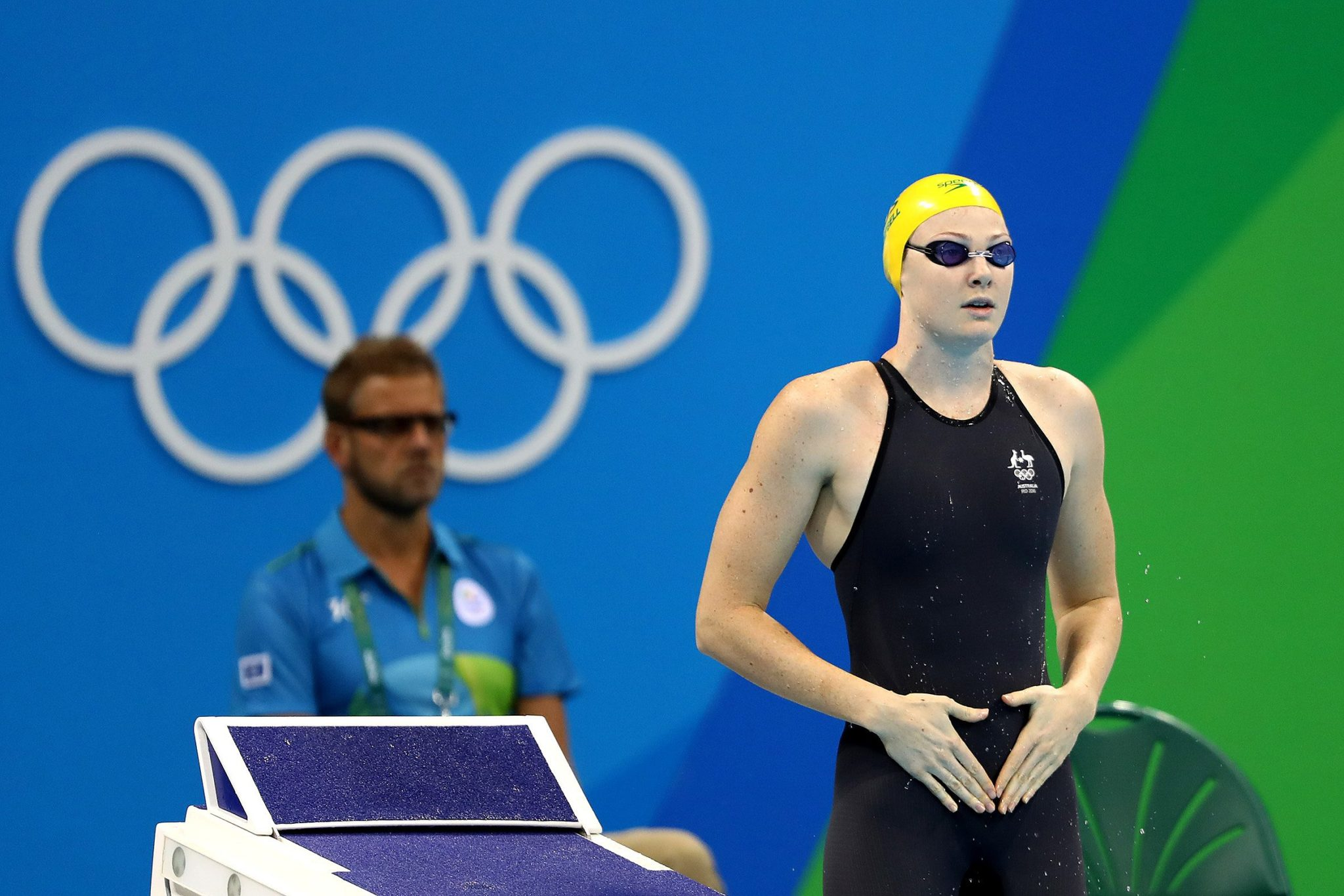 Cate Campbell sets new Olympic record in 100m freestyle semifinals