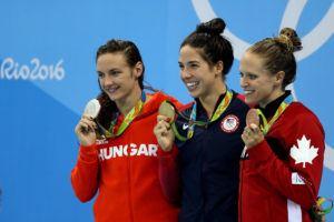 Maya DiRado: Moments like this are really special (Video)