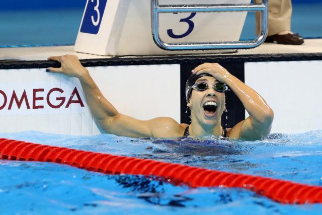 Maya Dirado - 200 back - Olympic Gold  - 2016 Rio Olympics/photo credit Simone Castrovillari