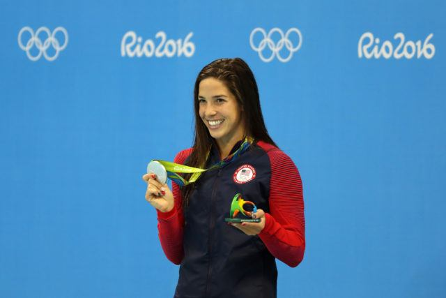 Maya Dirado - 2016 Olympic Games in Rio -courtesy of simone castrovillari