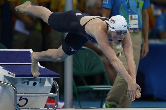 Missy Franklin - 2016 Olympic Games in Rio -courtesy of simone castrovillari