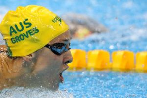 Hosszu, Groves Tie in 200 Fly On Day 2 of the FINA World Cup in Doha