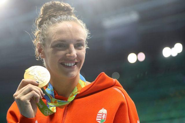 Katinka Hosszu 200 IM Olympic Gold - 2016 Rio Olympics/photo credit Simone Castrovillari