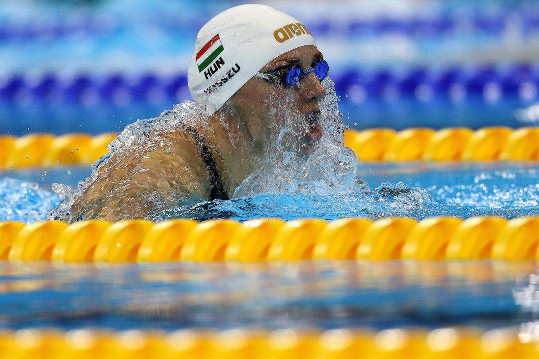 Hosszu, Morozov Lead Early 2016 World Cup Points Standings