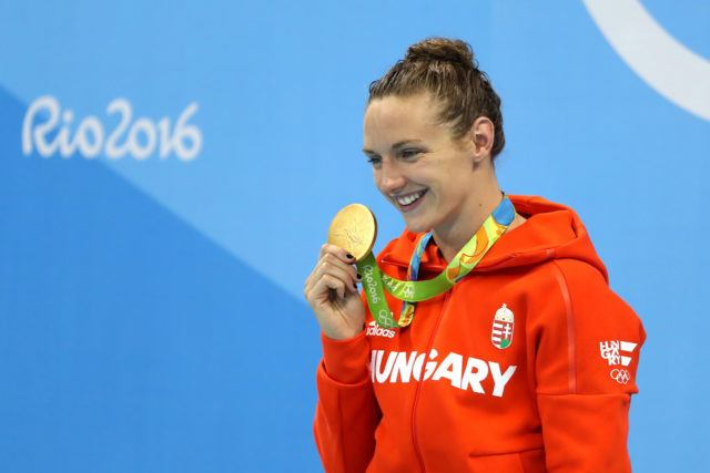 Katinka Hosszu - 2016 Olympic Games in Rio -courtesy of simone castrovillari