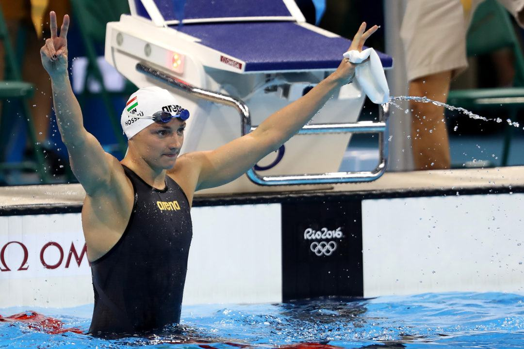Katinka Hosszu A No-Show For Women's 200 Fly Prelims