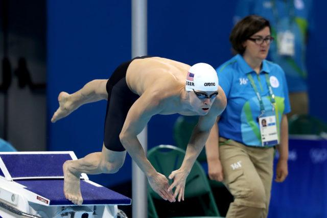 Connor Jaeger - 2016 Rio Olympics/photo credit Simone Castrovillari